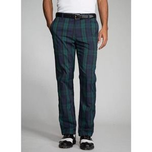Bonobos Maide Plaid Golf Pants Slim Straight